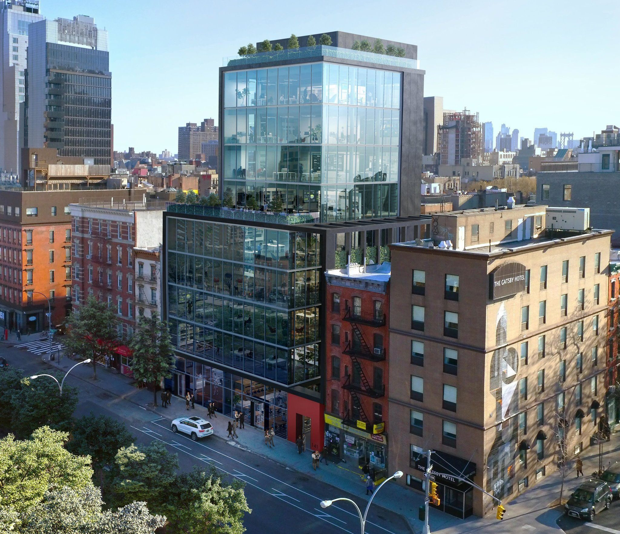 This Boxy Glass Tower Will Replace The Lower East Side's