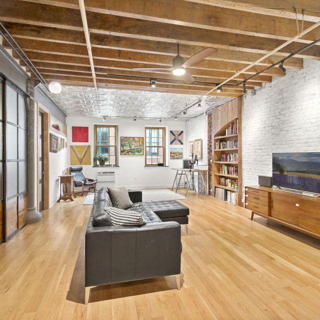 $1.4M Dumbo loft is decked out with tin ceilings and locally crafted millwork