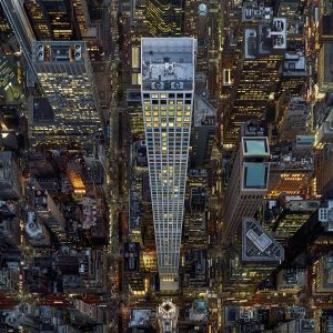 NYC aerial photography, Jeffrey Milstein, New York from above, Leaning out