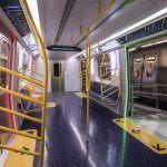 NYC subway, MTA, open gangway subway cars, R211 subway car