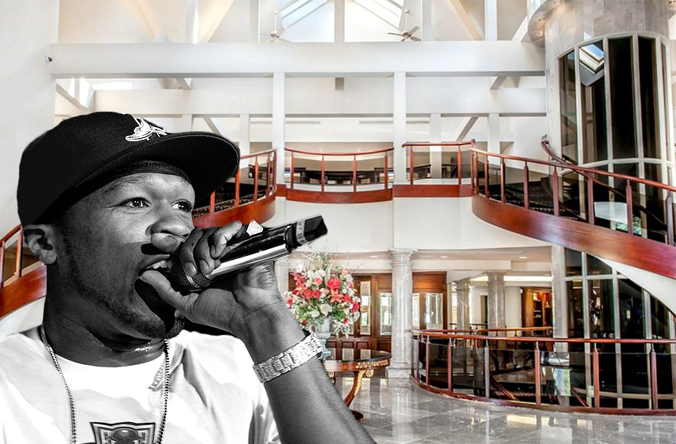 50 cent's connecticut mansion gets a $13m price cut ahead of