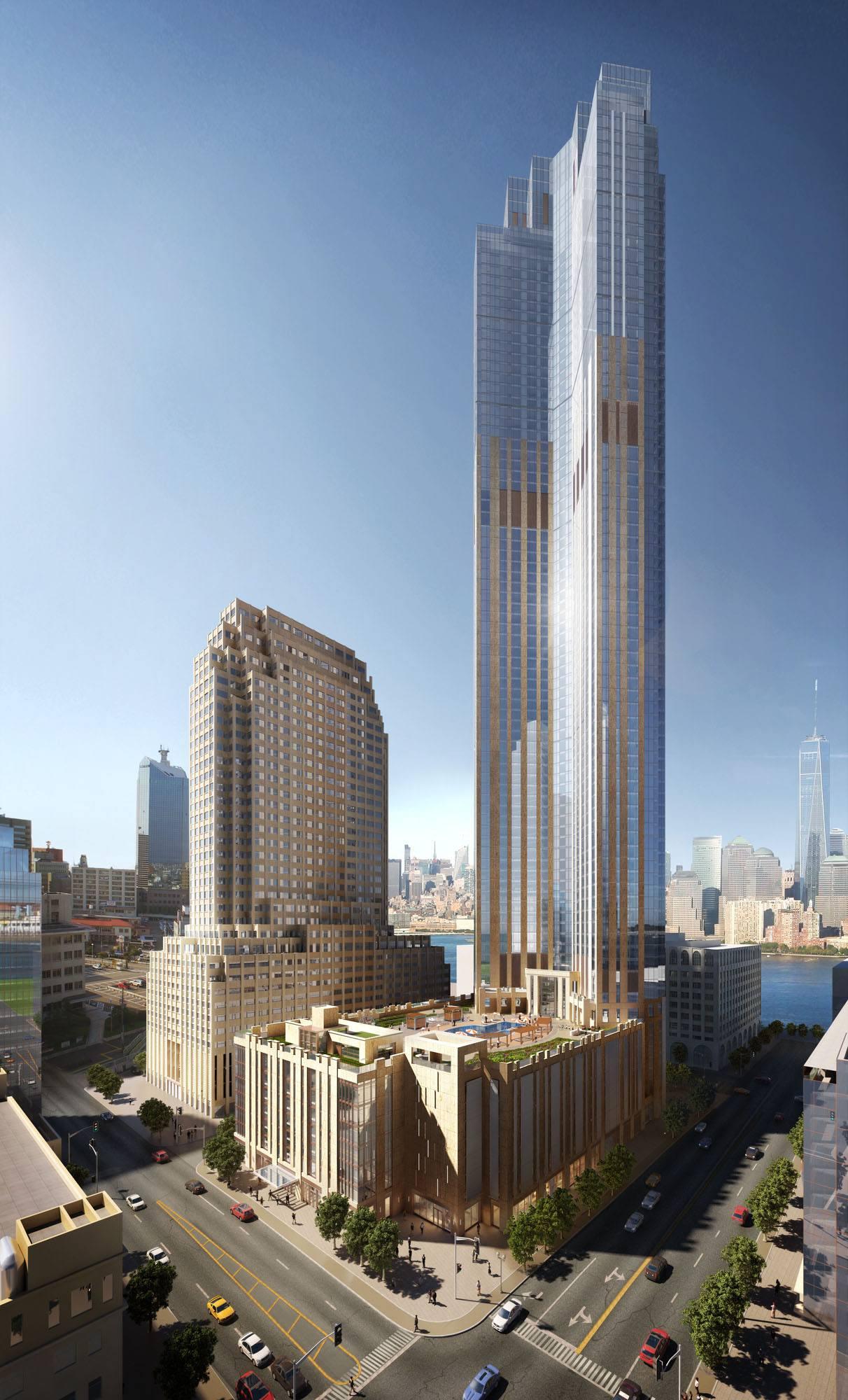 Fresh Renderings Revealed Of 99 Hudson Street The Soon To