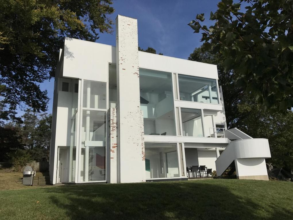 richard meier 39 s modernist smith house in connecticut lists