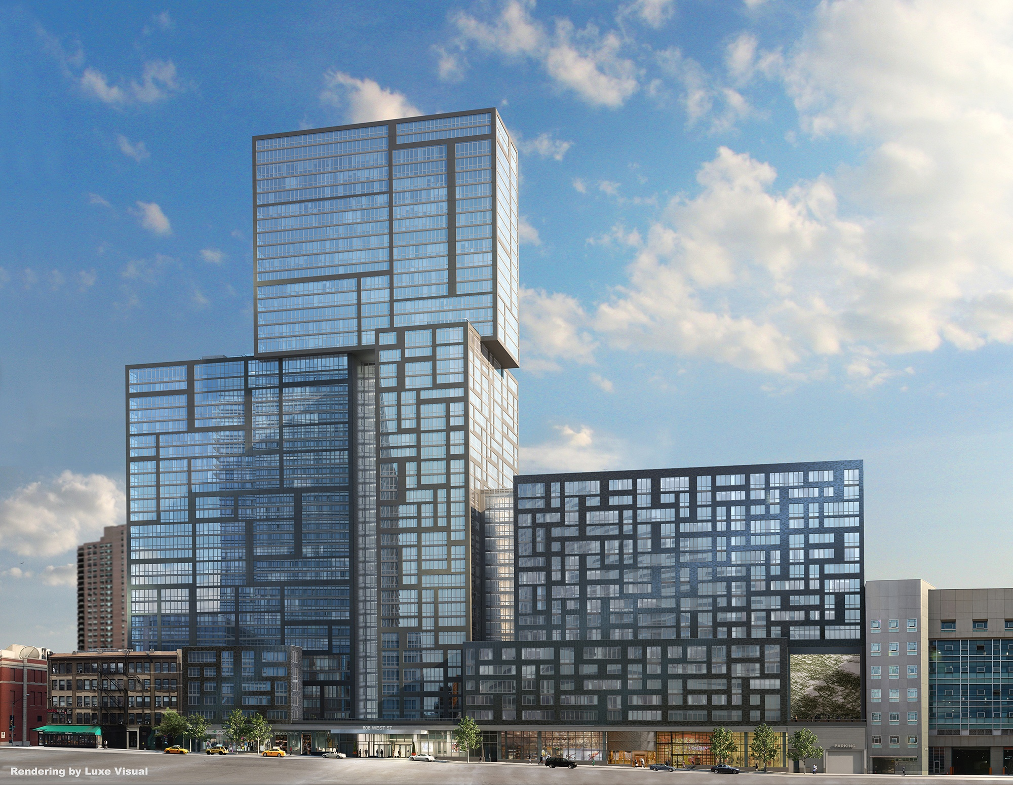Lottery launches for 258 rentals at TF Cornerstone\'s West 57th tower ...
