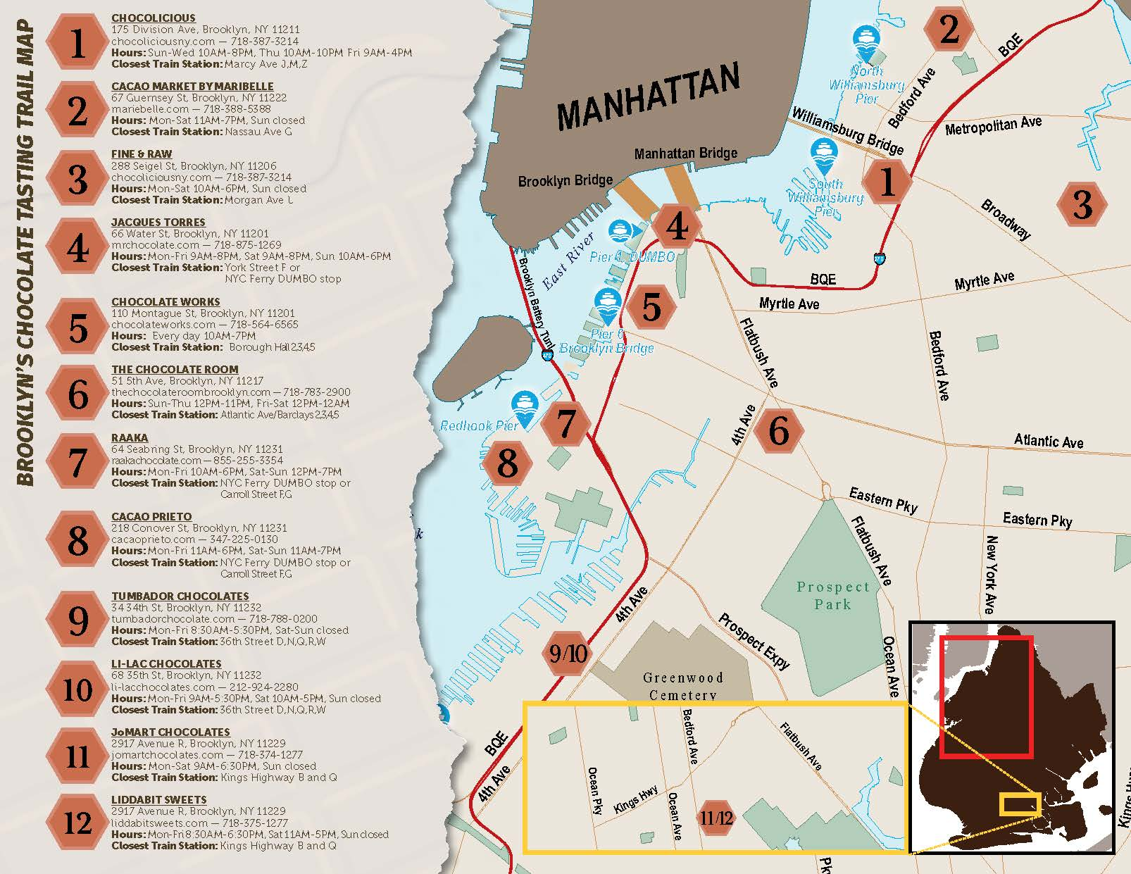 Treat your sweetie or yourself to a chocolate tour of Brooklyn