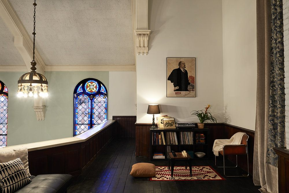 Hudson church, 21 north 6th street, Future Past Studios, douglas elliman