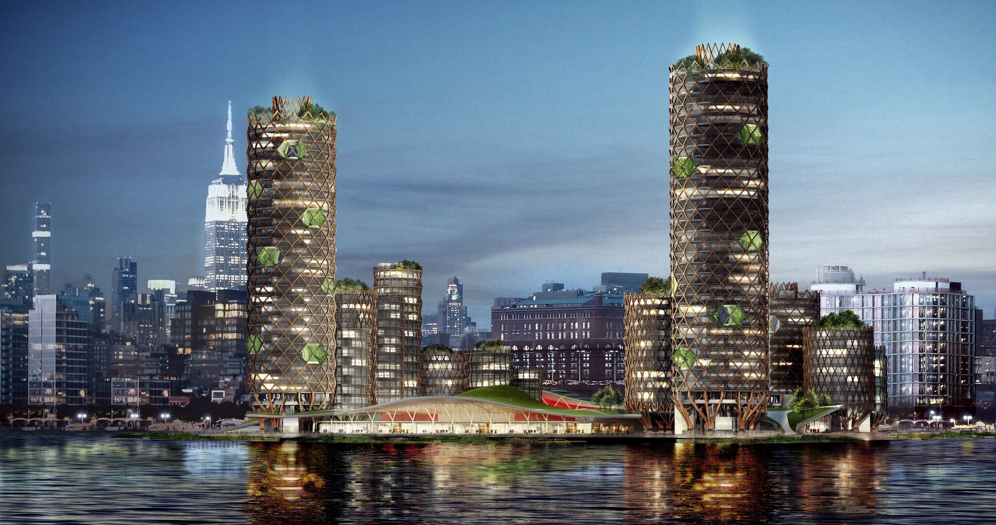 pier 40, DFA, rising sea levels, future new york