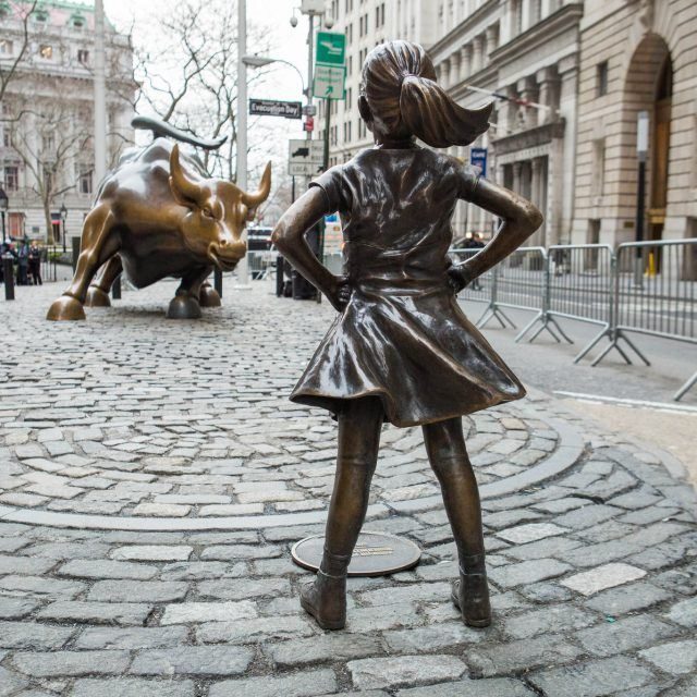 City to move 'Fearless Girl' to new home across from New York Stock Exchange