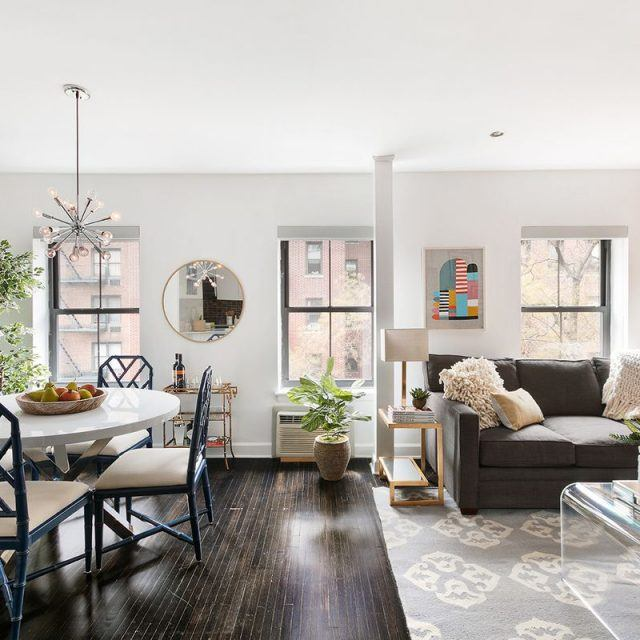 This drool-worthy, lofty pad asks $1.4M inside a historic Chelsea townhouse