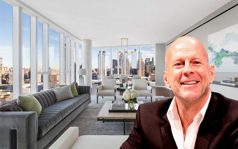 Bruce Willis 'downsizes' to a new four-bedroom Riverside Center condo