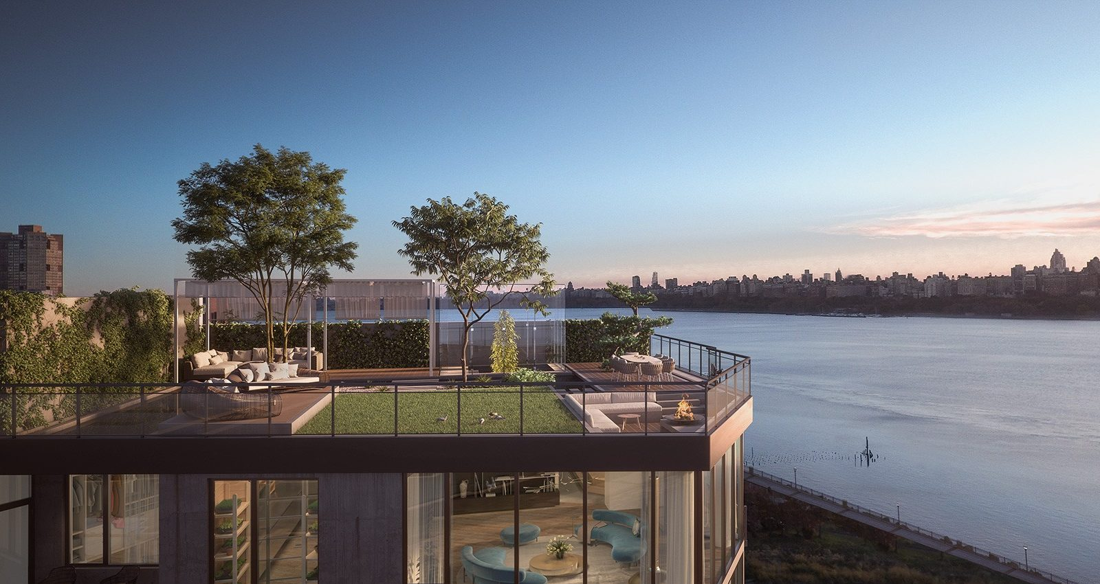 nine on the hudson, new jersey, penthouse