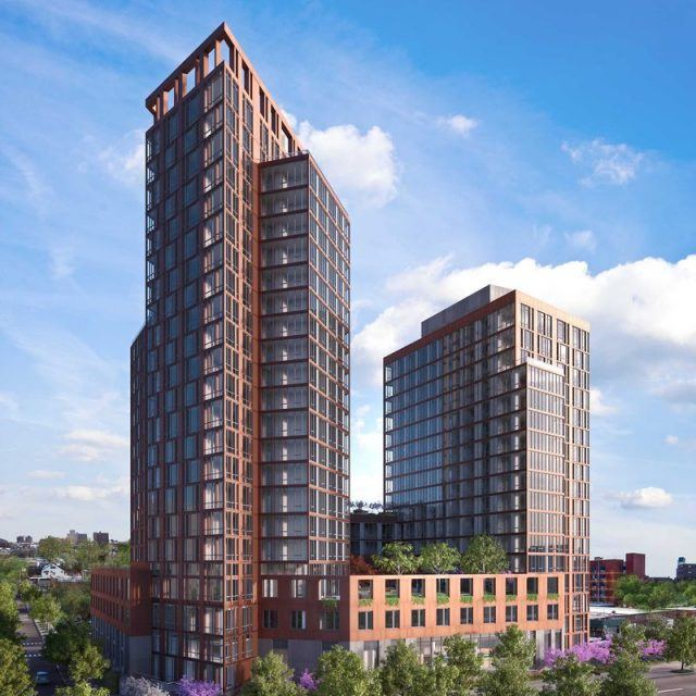 Before its summer kickoff, new renderings for Halletts Point's first rental
