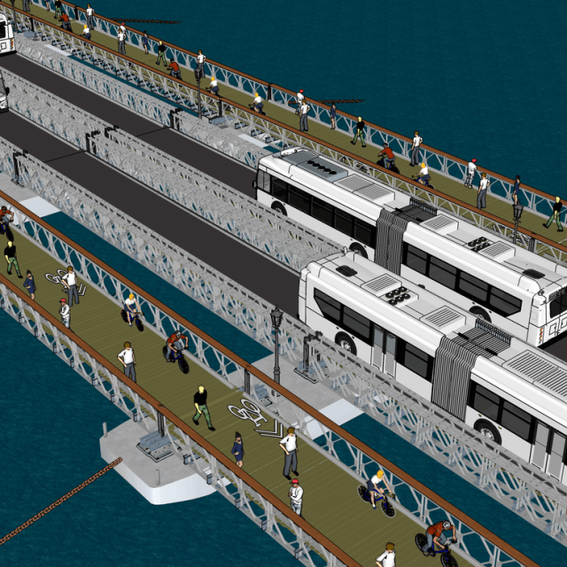Could an East River pontoon bridge be a viable L train alternative?