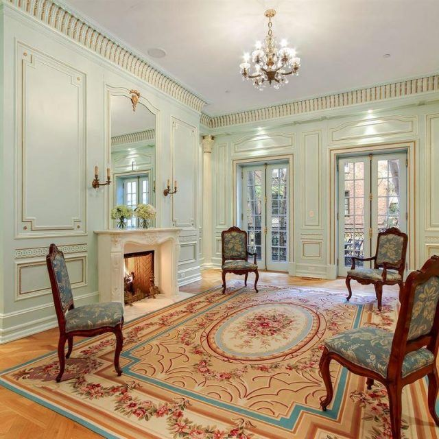 "$14M ""single family masterpiece"" on the Upper West Side stuns in seafoam"