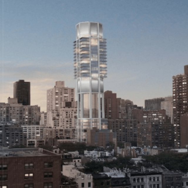 Rafael Viñoly's octagonal-cored Upper East Side tower gets new rendering