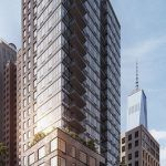 Exhibit NYC, 60 Fulton Street, Hill West Architects, Financial District rental tower