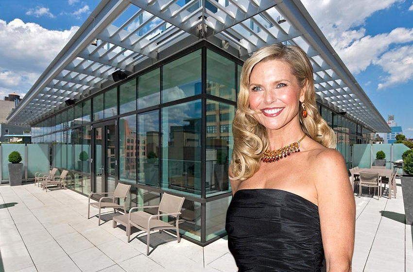 Christie Brinkley leaves Hamptons homes behind for a $30K/month Tribeca rental