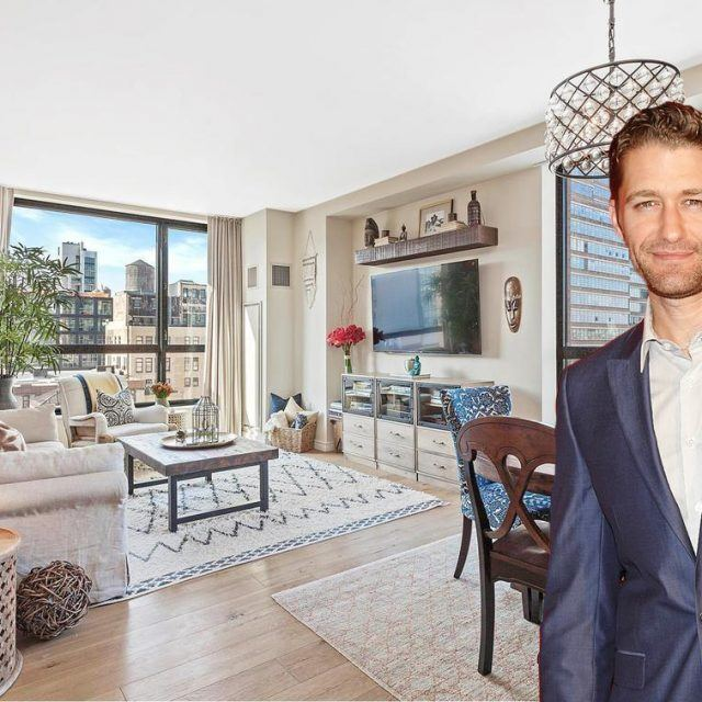 'Glee' actor Matthew Morrison puts his beachy Chelsea condo on the market for $2.5M