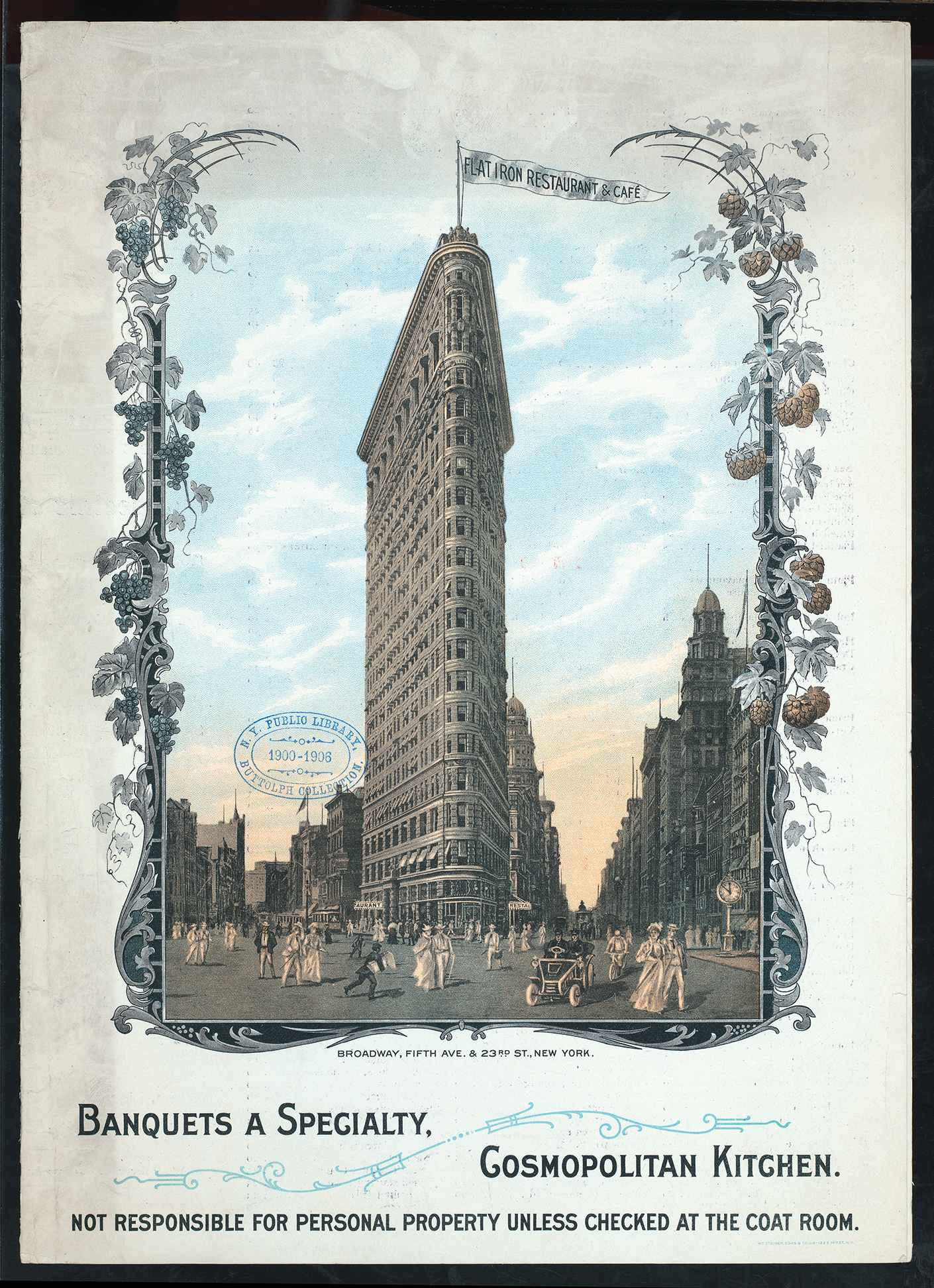 Did You Know The Flatiron Building Used To Have A Massive