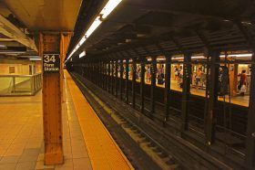 penn station, 34th street, nyc subway