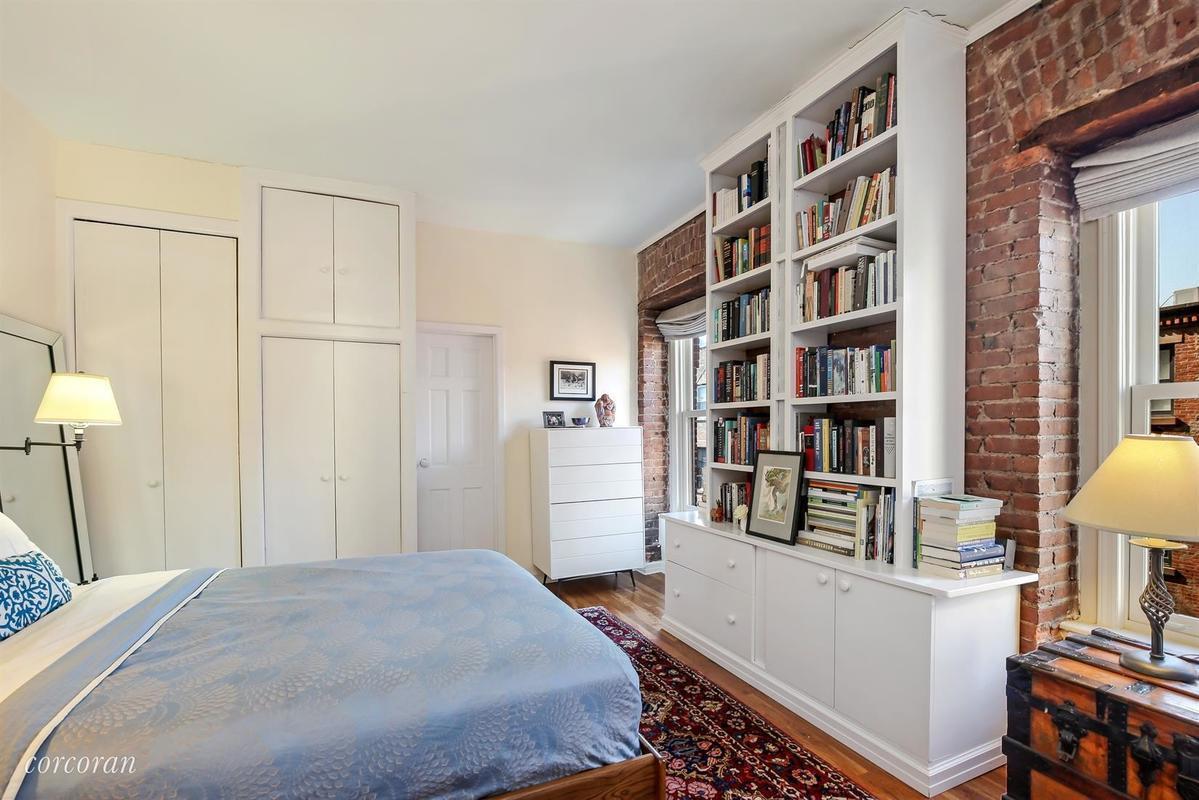 $900K corner co-op in Brooklyn Heights is cozy as can be   6sqft