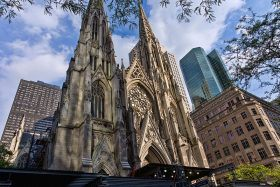 st patrick's, st patrick's cathedral, nyc landmarks
