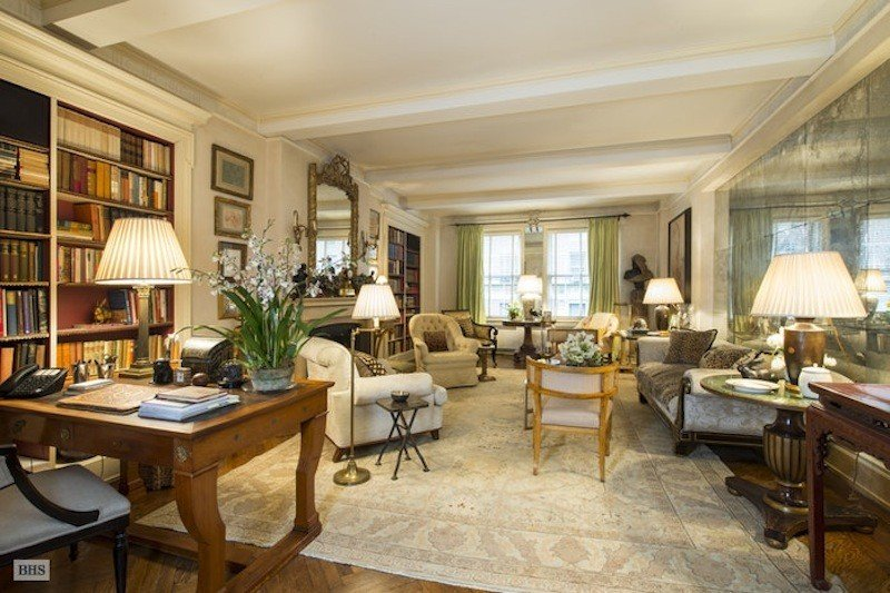 Interior Designer Bunny Williams Lists Tasteful Upper East Side Co Op For 4m 6sqft