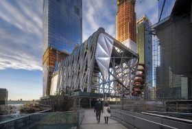 the shed, Diller Scofidio + Renfro, Rockwell Group, hudson yards,