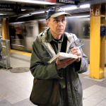 Philip Ashforth Coppola, subway sketches