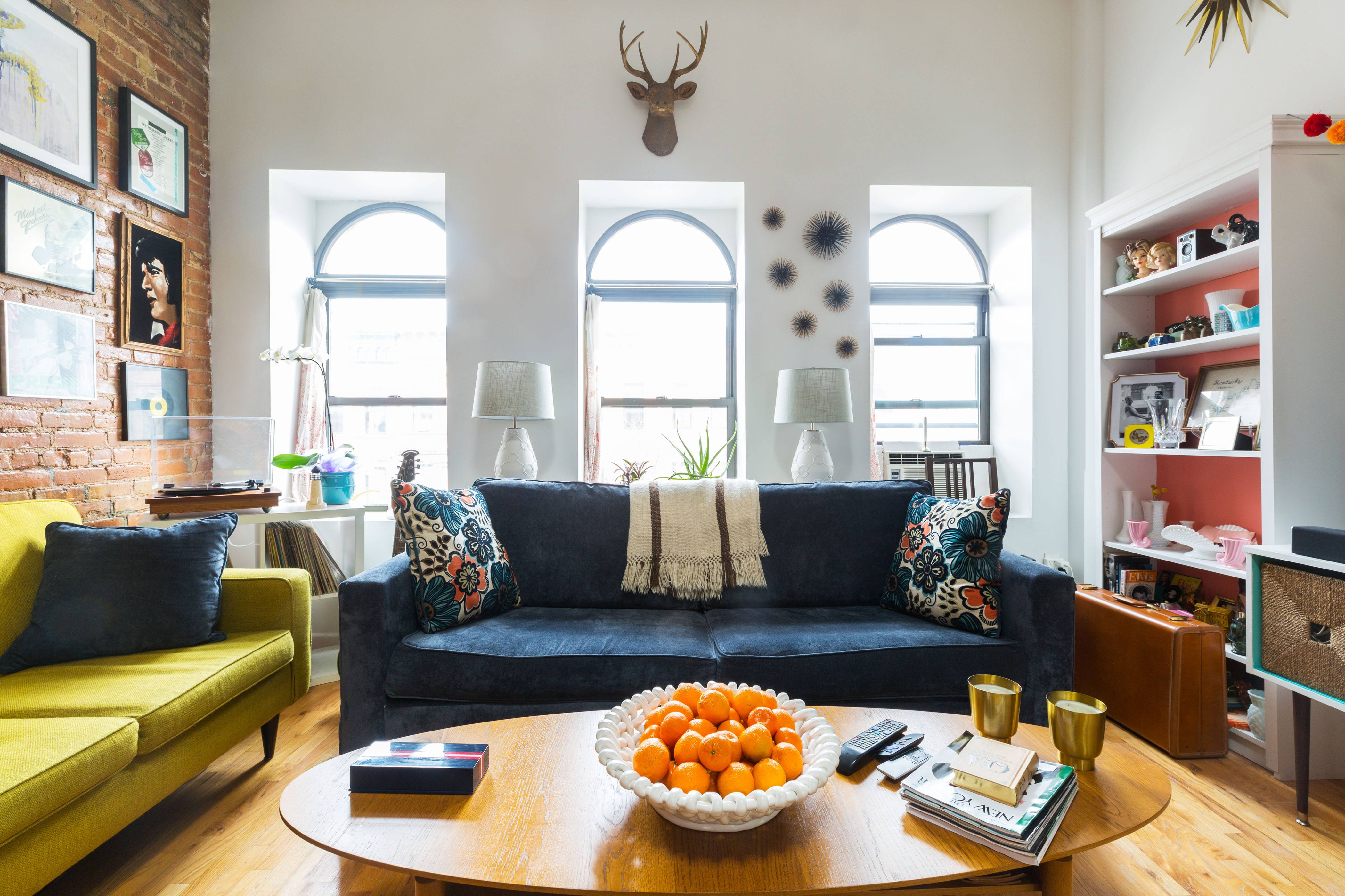 Our 900sqft: Native New Yorkers Aria and John open up their retro ...