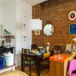 Aria and John Chiaraviglio, retro apartment, Harlem brownstone, Mysqft