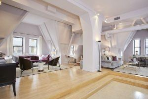 Liberty Tower, 55 Liberty Street, penthouse, attic, brown harris stevens