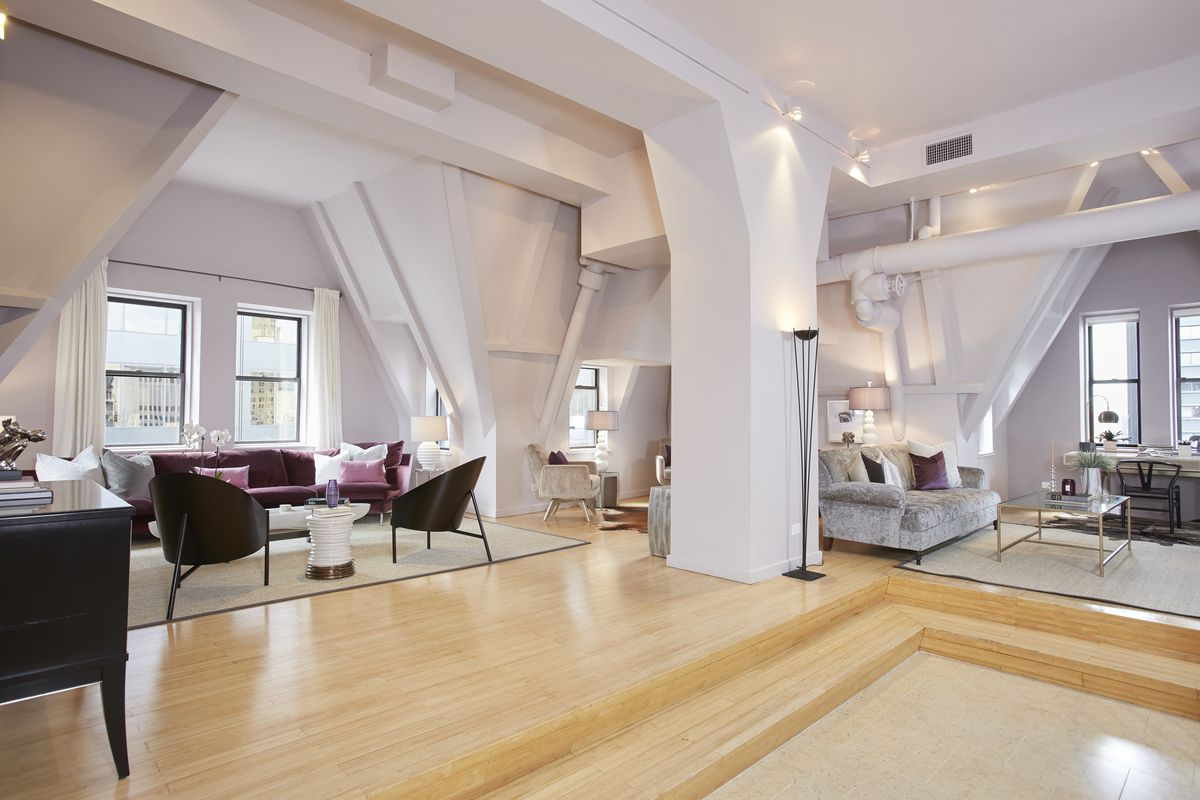 Fidi Interior Design Courses In Florence Italy An: $2.7M FiDi Penthouse Occupies The Former Attic Of One Of