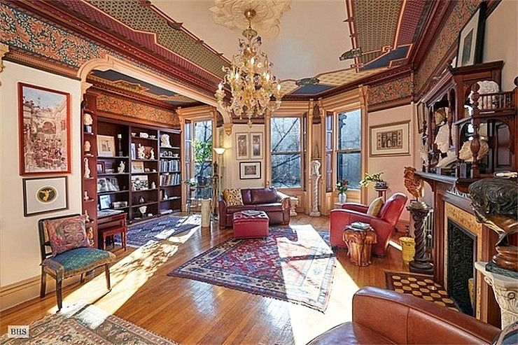 Original Park Slope 'brownstoner' lists his Victorian wonderland for $4M
