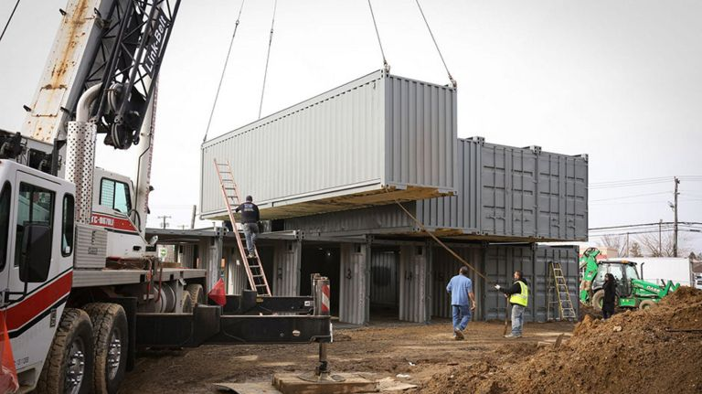 Shipping containers will bring affordable housing to the Bronx