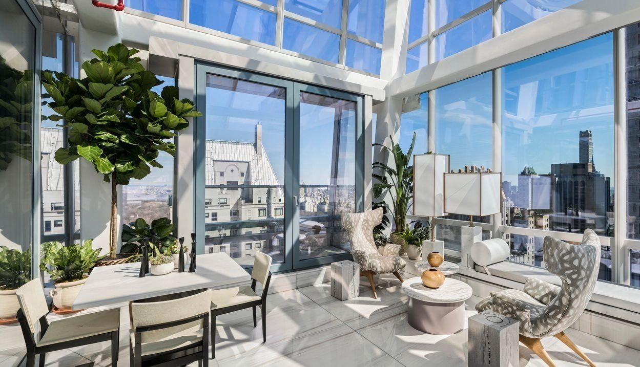 One of only two condos with private terraces at one57 for Condos for sale in new york