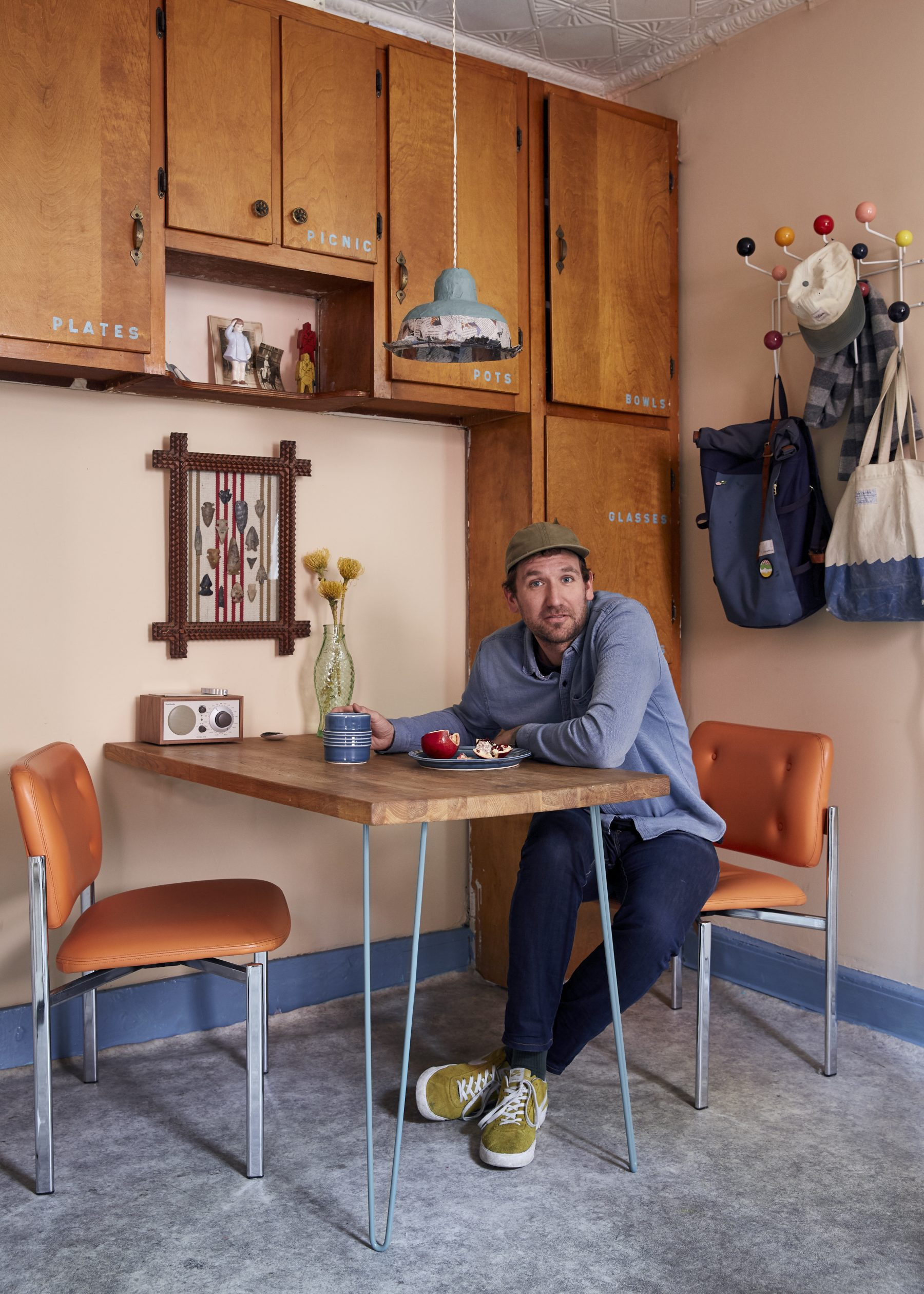My 330sqft: A Greenpoint photographer does 'grandpa cool' in