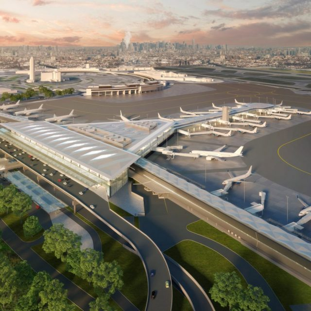 Grimshaw Architects reveal design for new $1.4B Newark Airport terminal