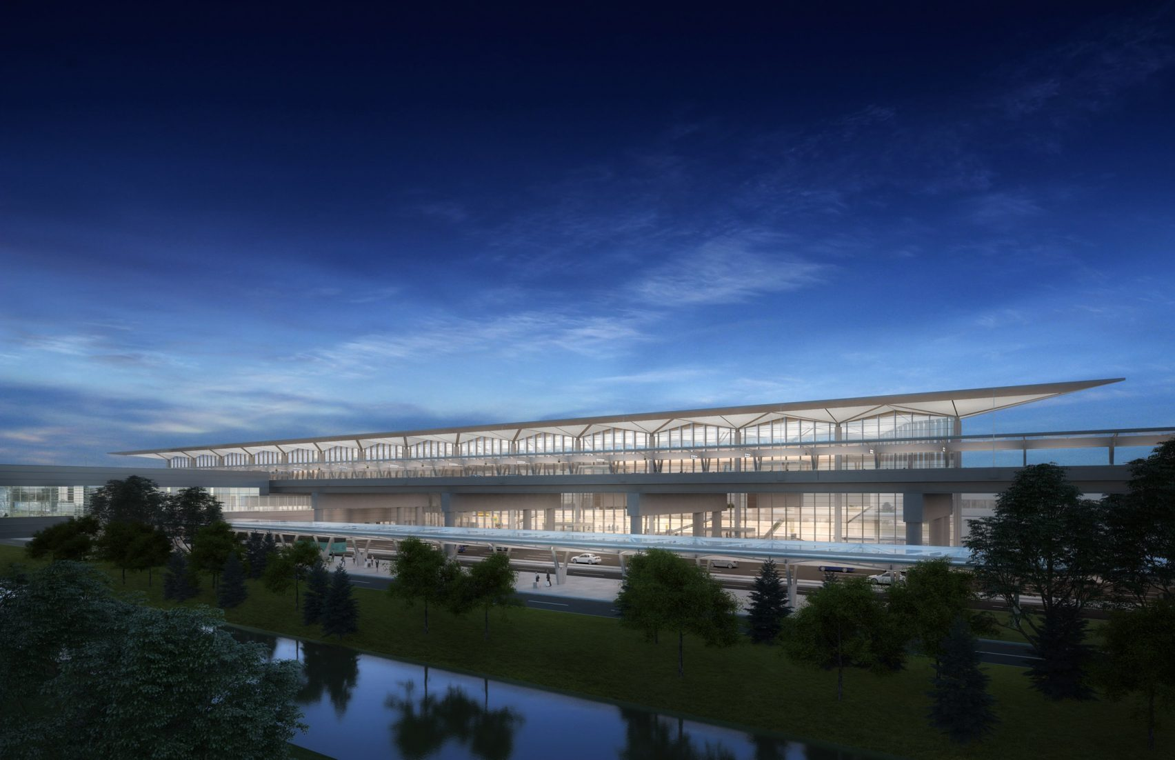 newark airport, newark liberty airport, terminal one, grimshaw architects, newark airport renovation