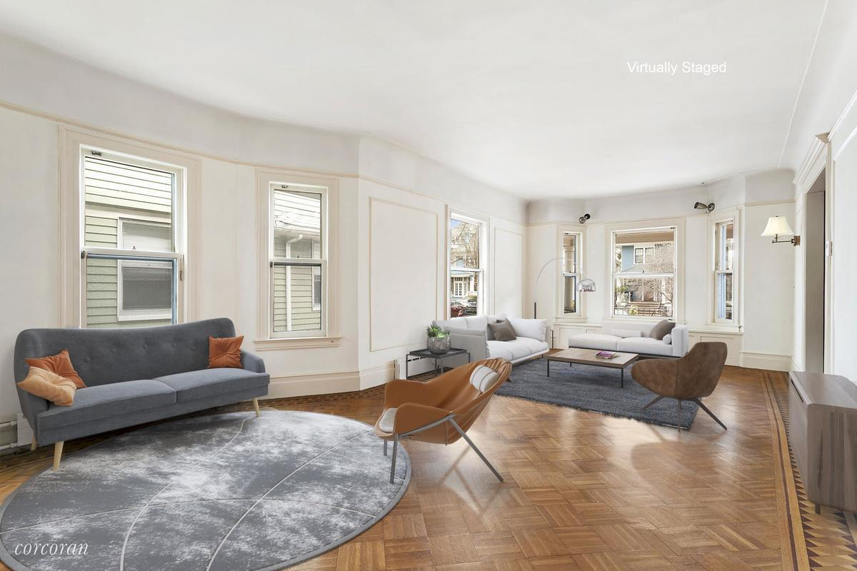 Located On The Lovely Tree Lined Urban Tranquil Streets Of Victorian  Flatbush, This Seven Bedroom Home Boasts Details Like Leaded Glass Pocket  Doors, ...