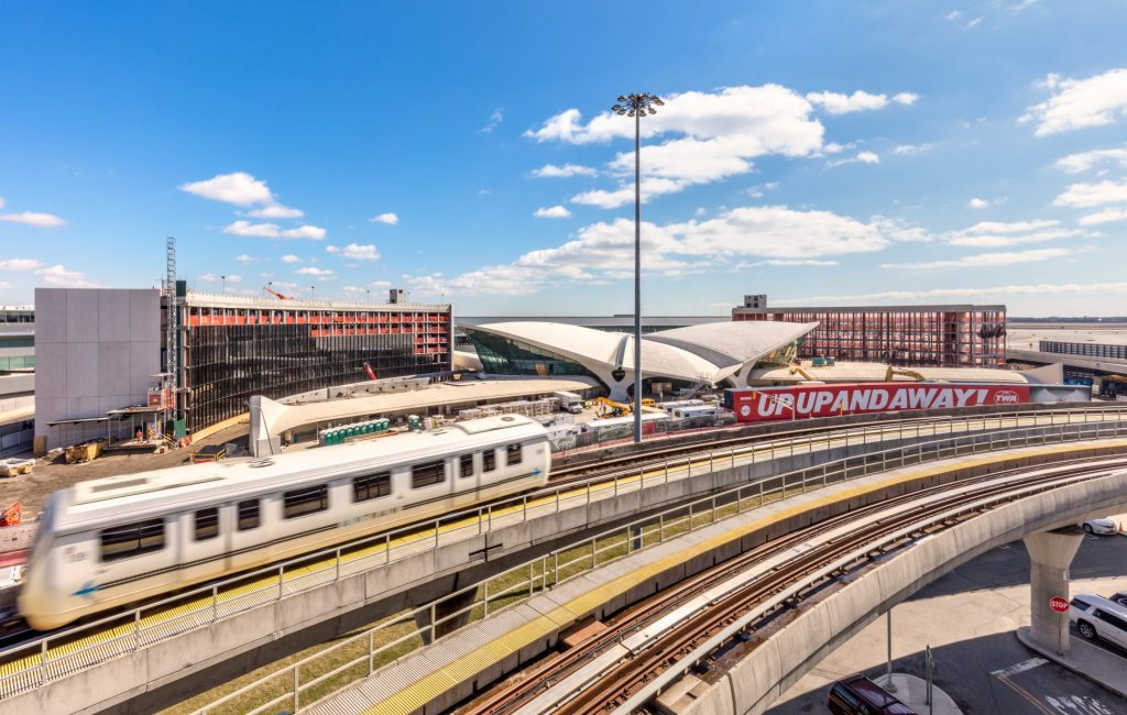 VIDEO: See a time-lapse of the TWA Hotel being constructed at JFK