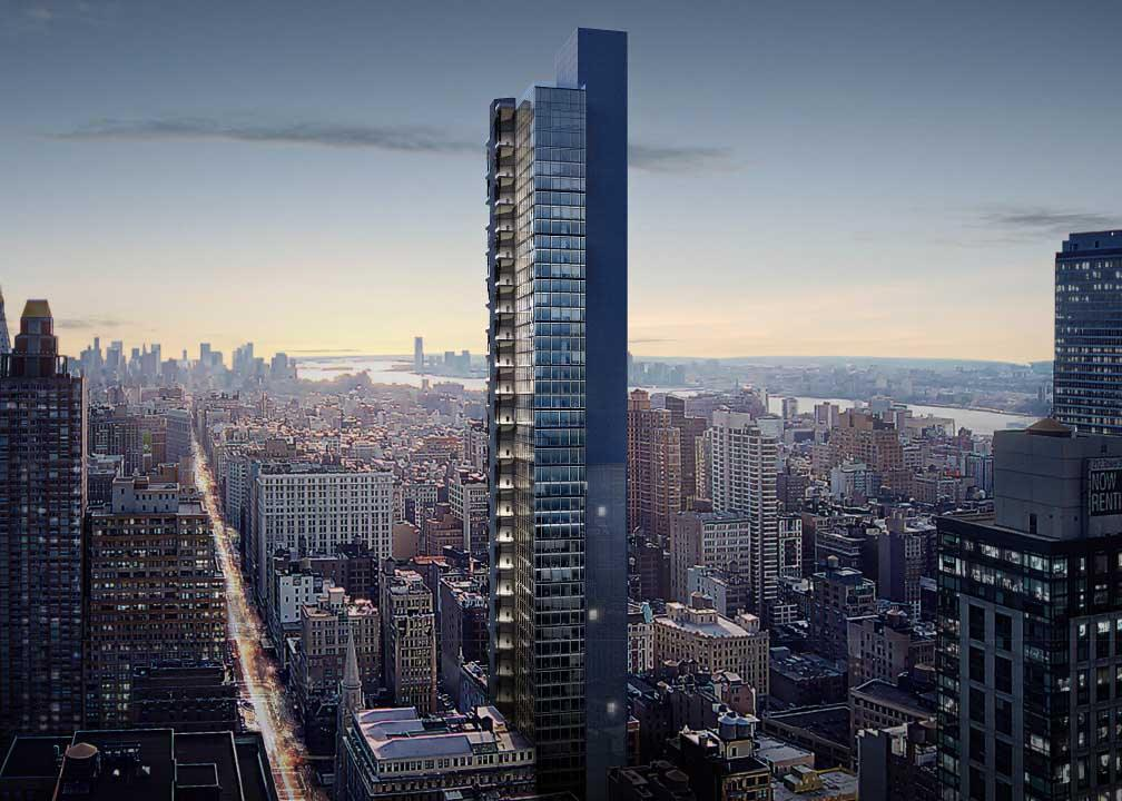 Bjarke Ingels' Nomad office tower reveals itself and nearly