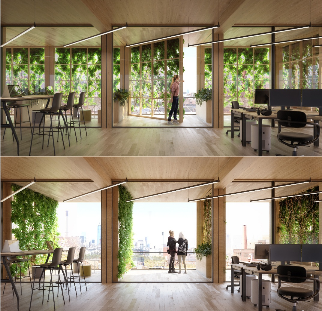 office facade design industrial thomas and rahimzadeh created facade design that is an adaptive scalable repeatable therefore affordable their building system of movable panels pixel facade concept creates flexible green office towers designed