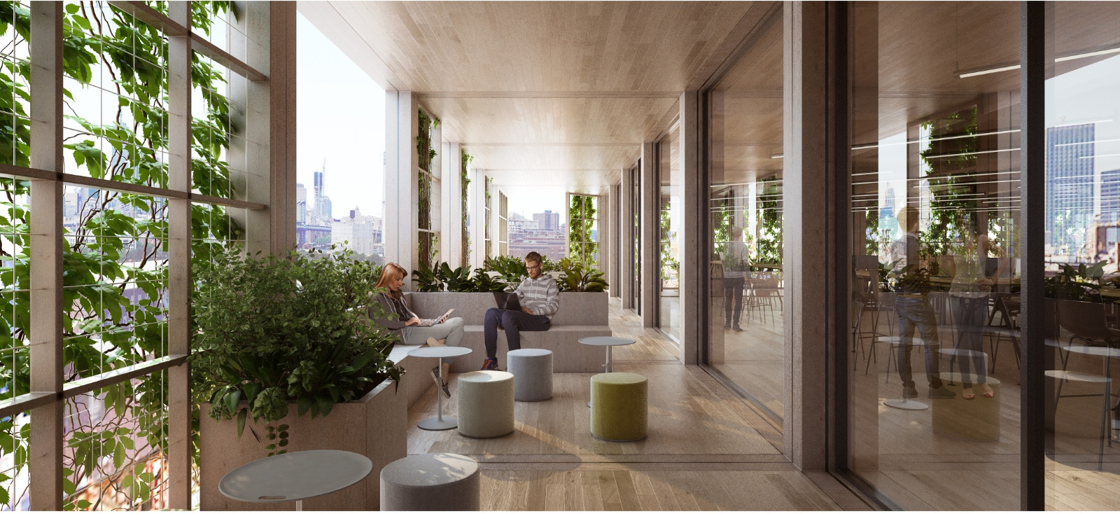 green office design. Posted On Thu, April 5, 2018 By Michelle Colman In Architecture, Green Design, Technology Office Design E