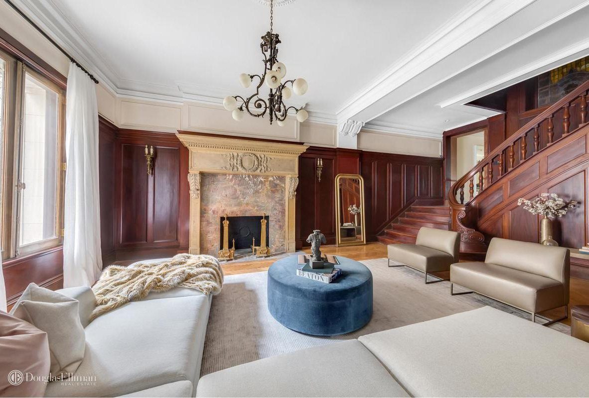 4m Duplex In Park Slope S Tracy Mansion Is Dripping With