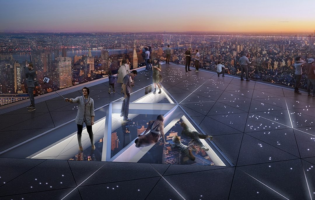 See Exclusive Construction Photos Of Nyc S Highest Outdoor