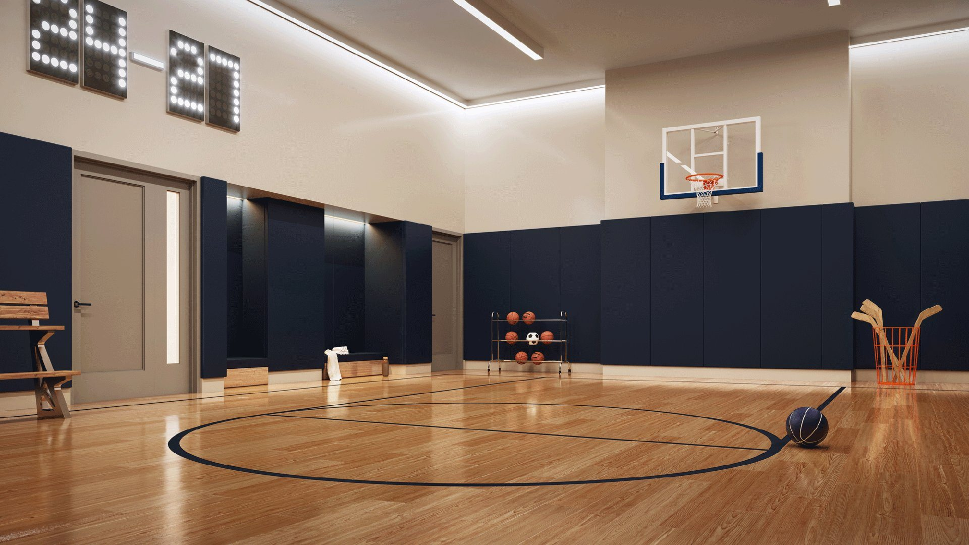 المجرف دون قصد تنورة Jersey City Indoor Basketball Courts Microvoadores Com