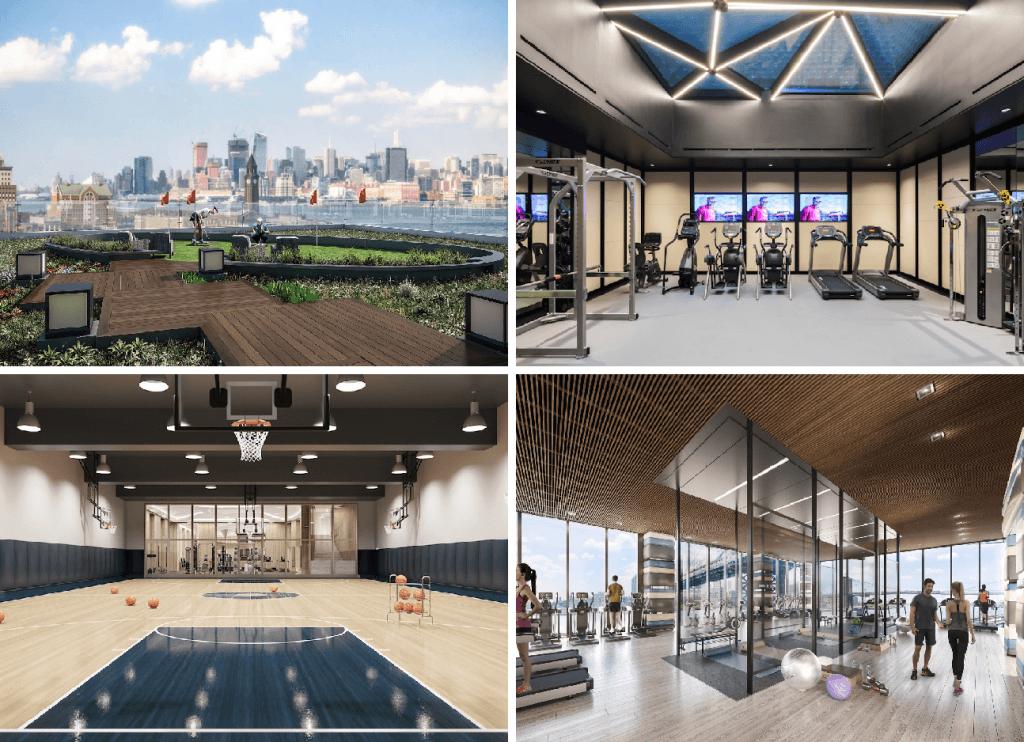 The best gyms in nyc residential buildings sqft