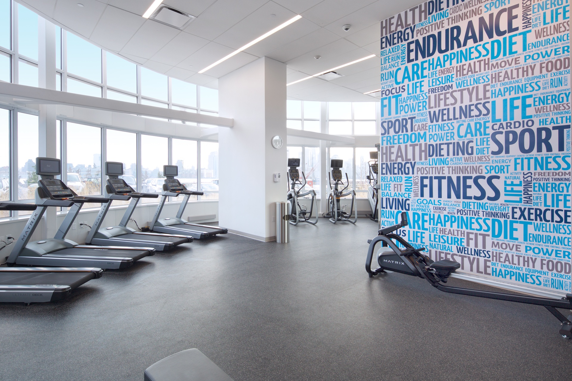 The best gyms in nyc residential buildings sqft