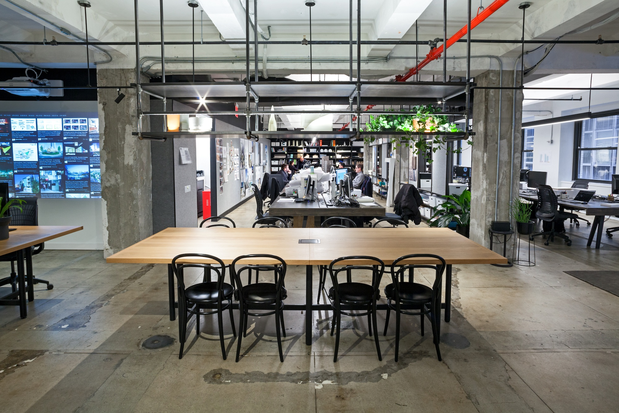 where i work architecture firm woods bagot shows off their raw